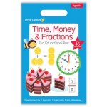 Little Genius Pad - Time, Money & Fractions