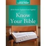 Know Your Bible Large Print Edition