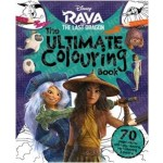 Disney Raya & The Last Dragon Mammoth Colouring