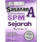 SASARAN A KERTAS MODEL SPM SEJARAH (KTS 1)