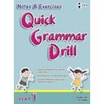 Tahun 1 Notes & Exercises Quick Grammar Drill English