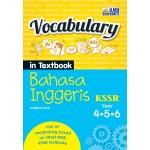 Tahun 4, 5 & 6 Vocabulary in Textbook Bahasa Inggeris