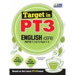 TARGET IN PT3 ENG(CEFR) PAPER 1(PART1-5)
