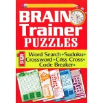 BRAIN TRAINER PUZZLES (5 IN 1)