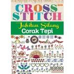 CROSS STITCH, JAHITAN SILANG CORAK TEPI
