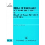 BILLS OF EXCHANGE ACT (AS AT 25.4.2016)