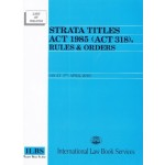 STRATA TITLES ACT 1985 ( ACT 318 )