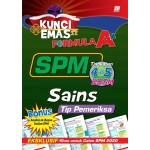 KUNCI EMAS FORMULA A+ SPM SAINS(TIP PEMERIKSA)