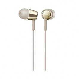 SONY MDR-EX155AP WIRED EARPHONE GOLD