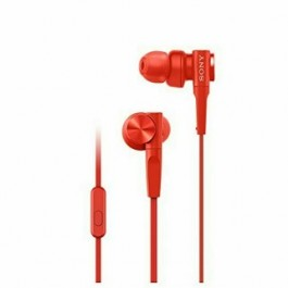 SONY MDR-XB55AP EXTRA BASS WIRED EARPHONE RED