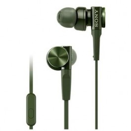 SONY MDR-XB55AP EXTRA BASS WIRED EARPHONE GREEN
