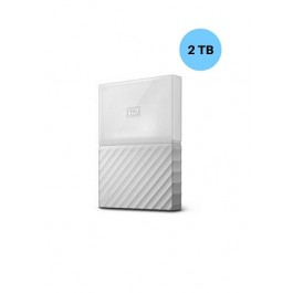 WESTERN DIGITAL HARD DISK 2TB MY PASSPORT WHITE