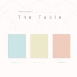 NU'EST - 7TH MINI ALBUM: THE TABLE (A/B/C VER) (RANDOM VERSION)