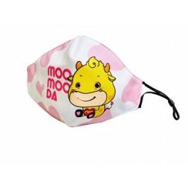 心连心希望 元气满满 Moo Moo哒口罩(儿童-粉色)