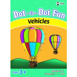 Dot-to-Dot Fun - Vehicles