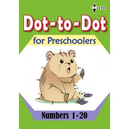 Dot-to-Dot for Preschoolers - Numbers 1-20