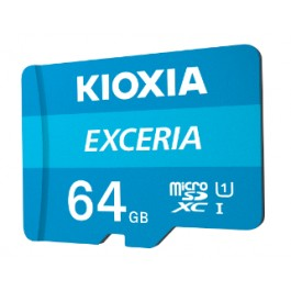 KIOXIA EXCERIA MicroSD Memory Card 64GB