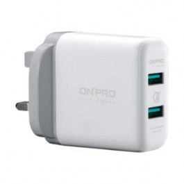 ONPRO 2 USB ADAPTER 6A WHITE