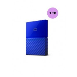 WESTERN DIGITAL HARD DISK 1TB MY PASSPORT BLUE