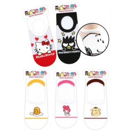 SANRIO CHARACTERS LOW CUT SOCKS- ASSORTED COLOURS