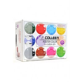 COLLEEN POSTER COLOUR 12ML - 16 COLOURS