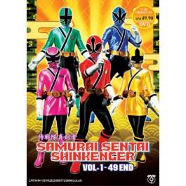 SAMURAI SENTAI SHINKENGER 侍戦隊真劍者 VOL.1-49END (2DVD9)