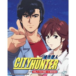 CITY HUNTER VOL.1-134 END+5 MOVIE (7DVD)