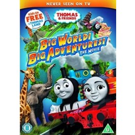 THOMAS & FRIENDS:BIG WORLD MOVIE (DVD)