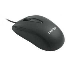 CLIPTEC RZS951 XILENT SCROOL SILENT USB MOUSE - BLACK