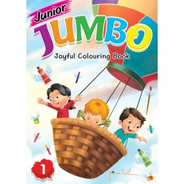 JUNIOR JUMBO JOYFUL COLOURING BOOK 1