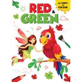 MY COPY TO COLOUR: RED & GREEN