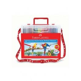 Faber-Castell Watercolour Pencils - 48 Colours Wonder Box