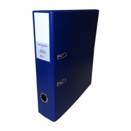 POP BAZIC COLOUR LEVER ARCH FILE A4 75MM BLUE