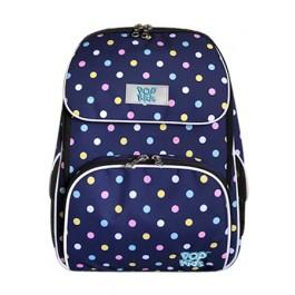 POP KIDS SCHOOL BAG - COMFORT CANDY POLKA