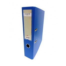 """POP BAZIC COLOUR LEVER ARCH FILE WITH INDEX A4 3"""" BLUE"""