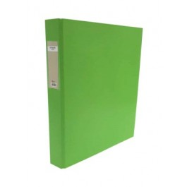 POP BAZIC PP 2D RING FILE A4 25MM LIME GREEN
