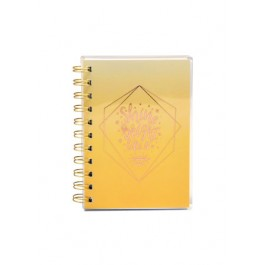 PVC WIRE-O NOTE BOOK A6 80 GRAM 80 SHEET COLOR 5-A6