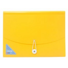 POP BAZIC LISSOME SERIES EXPANDING FILE 13 POCKET A4 - YELLOW