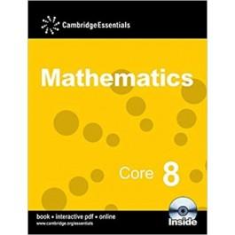 CAMBRIDGE ESS MATHS CORE 8 P BK(CD)'13