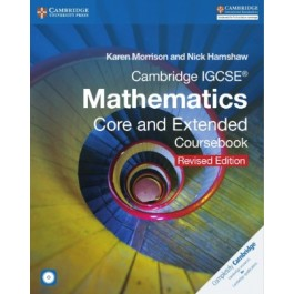 IGCSE Maths Core and Extended Coursebook revised edition