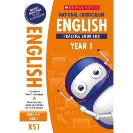 KS1 Year 1 National Curriculum English Practice Book for Ages 5 - 6