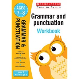 KS2 Year 3 Grammar and Punctuation Workbook for  Ages 7 - 8