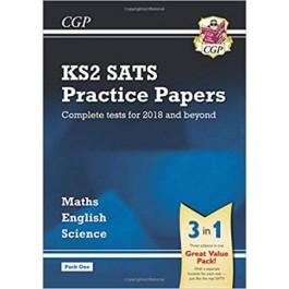 KS2 COMP SATS PRAC P PACK 1:SCI,M&ENG'18