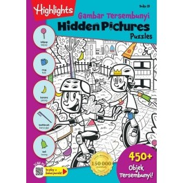 HIDDEN PICTURES PUZZLES BOOK 18 (BI-BM)