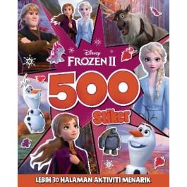 BUKU 500 STIKER DISNEY FROZEN 2