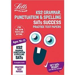 LETTS KS2 ENG GRAMM,P&S SATS PRAC TP '18