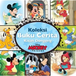 KOLEKSI BUKU CERITA DISNEY MICKEY& FRIENDS