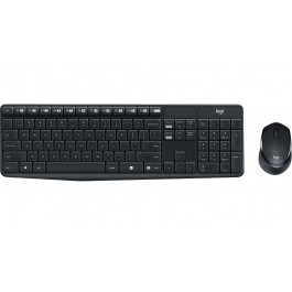LOGITECH MK315 QUIET and DURABLE WIRELESS KEYBOARD & MOUSE COMBO