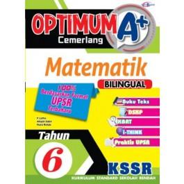 Tahun 6 Optimum A+ Cemerlang Matematik (Bilingual)