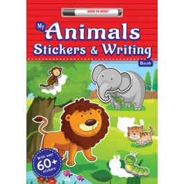 MY ANIMALS STICKERS & WRITING BOOK